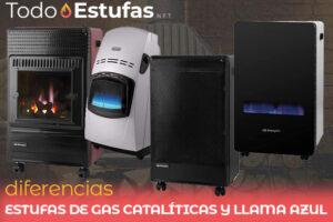 Diferencias entre estufas de gas catalíticas y llama azul ¿Cuál es mejor?