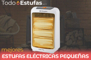 Las mejores estufas eléctricas pequeñas del mercado
