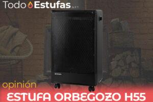 Opinión de la estufa Orbegozo H55
